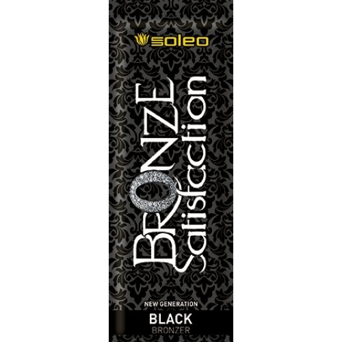 Bronze Satisfaction Black 15ml - Soleo Soleo