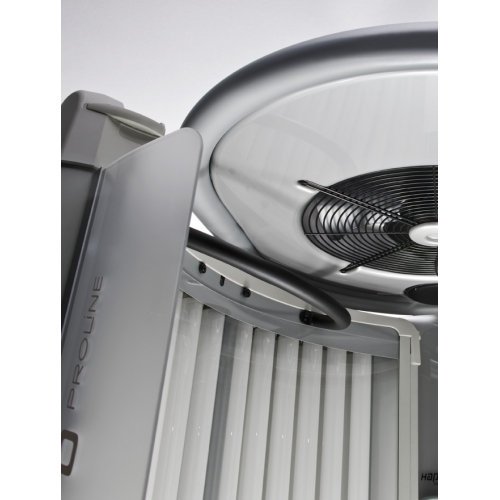 Central fan extraction and speakers for Proline 28 V and 28 V Intensive Hapro