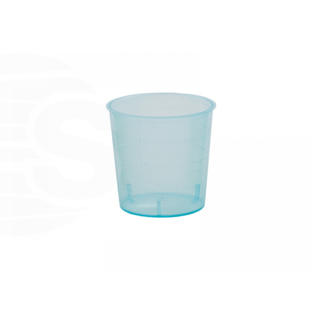 Cups to shot glasses cosmetic (Blister pack 80 cups) - Consumables and accessories -