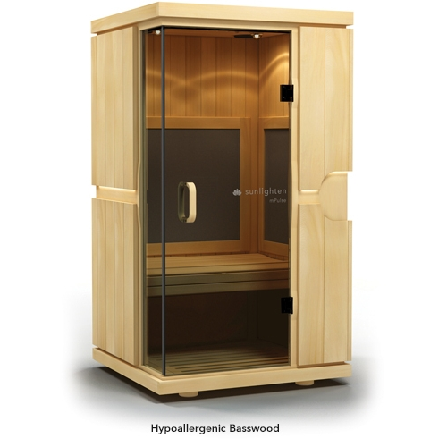Sauna MPulse ASPIRE Basswood - Aesthetic Equipment - Sunlighten