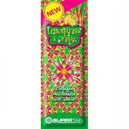 Supertan Lemongrass & Orange 15ml - Single Serving Packs - Supertan