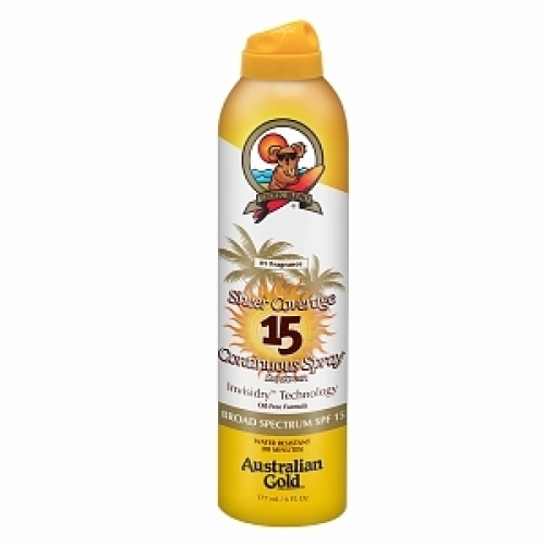 Australian Gold - Premium Coverage SPF 15 Cont Spray