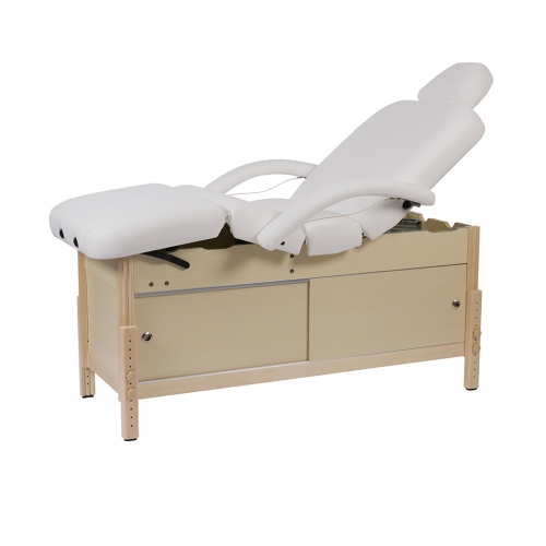 Wooden massage table fixed Neo