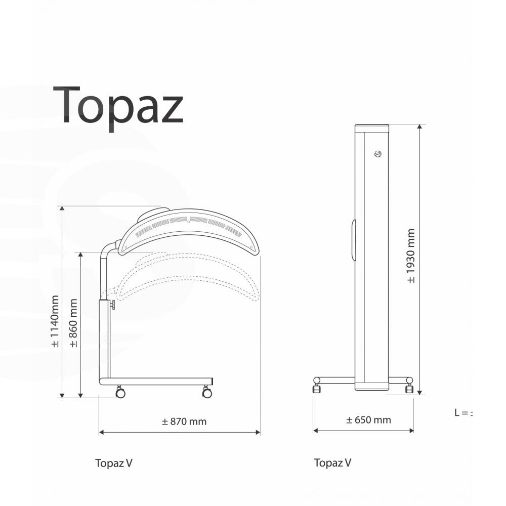 Solário Hapro Topaz 10/1