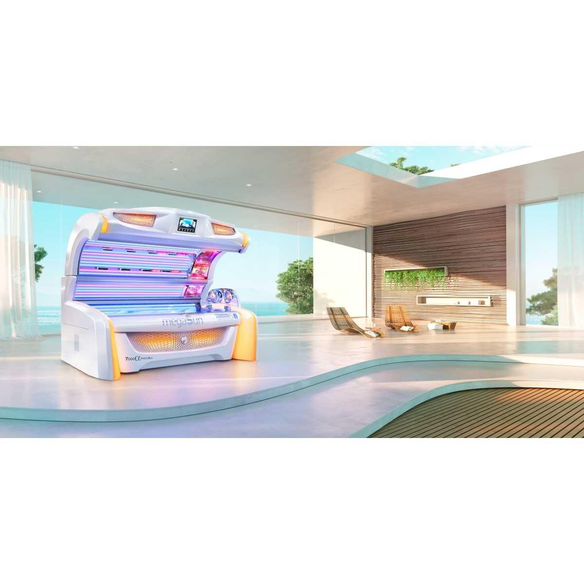megaSun 7000 Alpha BeautySun - Colageno + Bronceado - Megasun