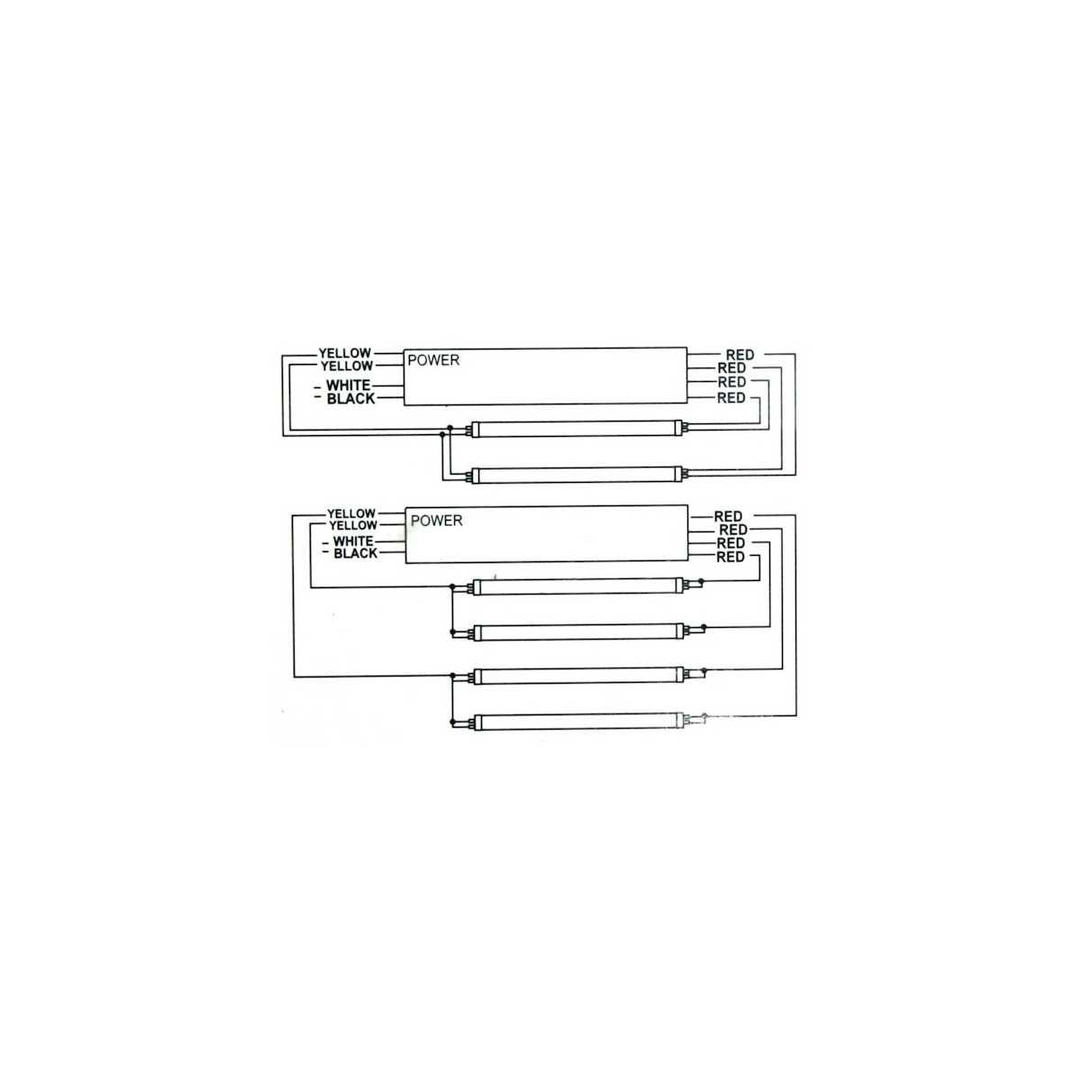 Balastro electronico 2x160W o 4x100W - Strozzatori -