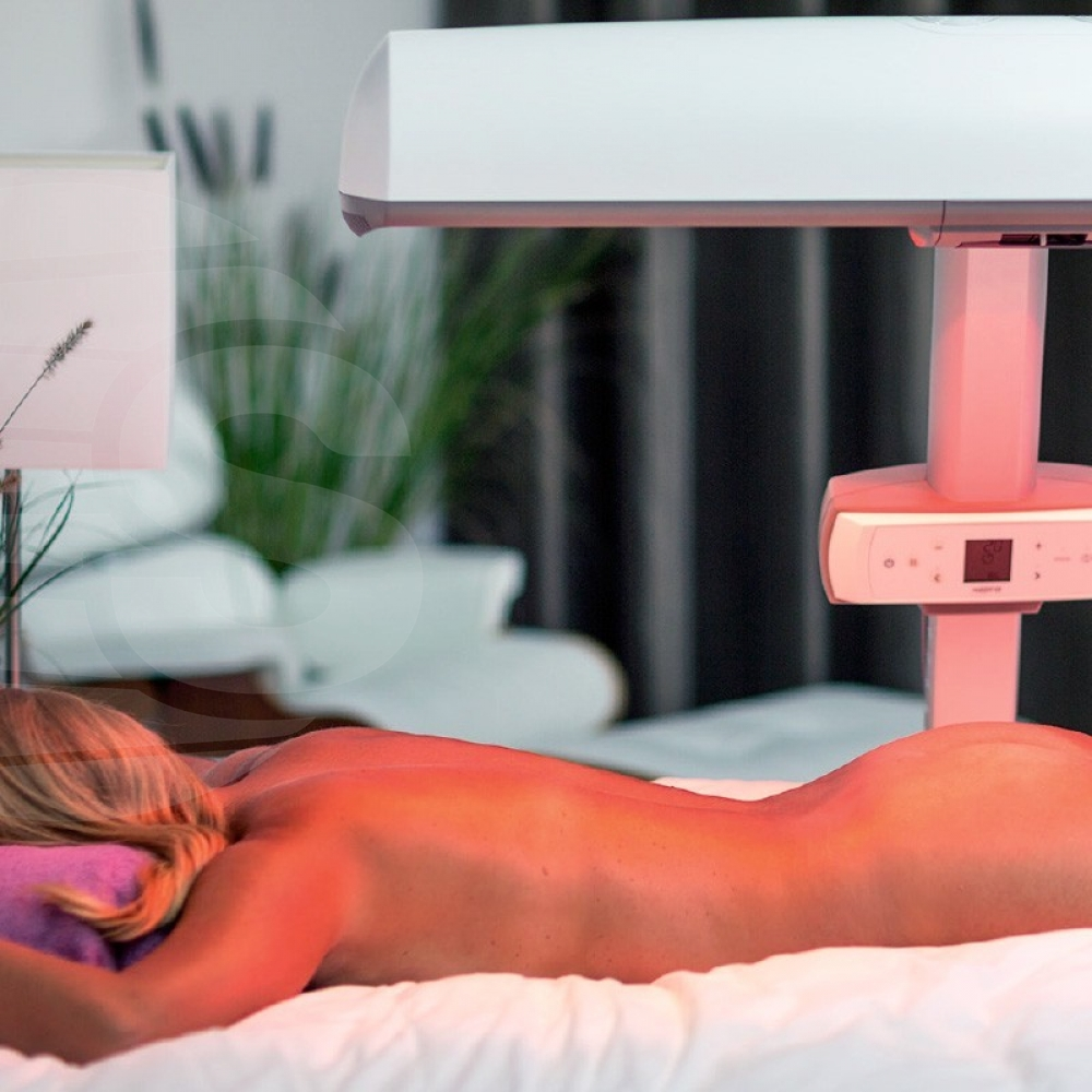 Hapro HP8580 (Exposure) Wellness Innergize Sunbed compact White