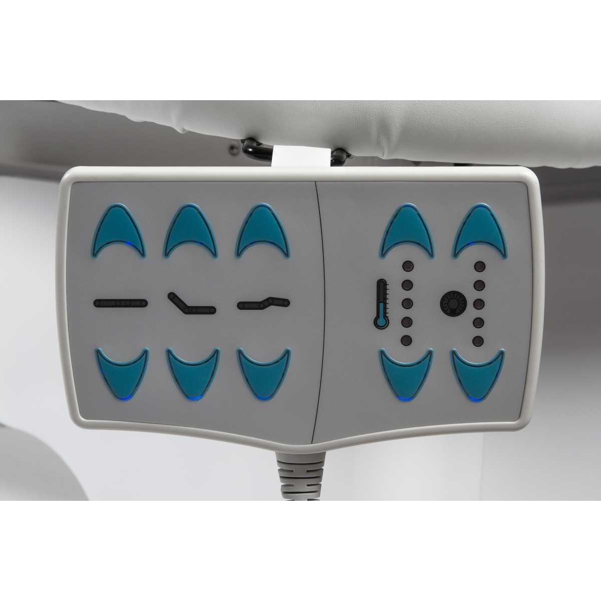 Lettino Spa di Lusso dell'Acqua e Cromoterapia AquaSpa 1 motore - Benessere & Spa