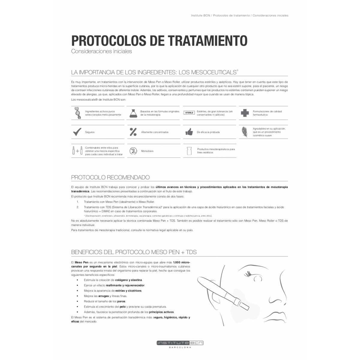 Meso Roller Facial - MesoRoller - Institute BCN